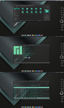 Manjaro screenshot by Naf71