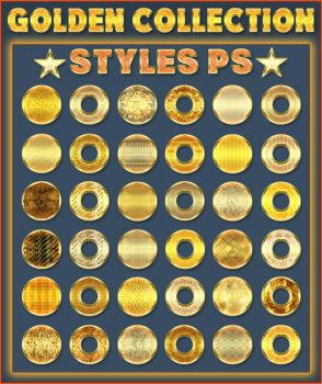Golden Collection   50 Styles Ps by Laurent-Dubus
