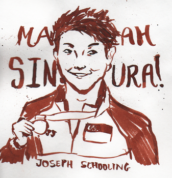 Joseph Schooling! by Marcusqwj