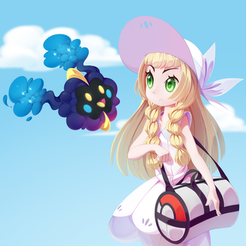 Lilie and Nebby by LordYanYu