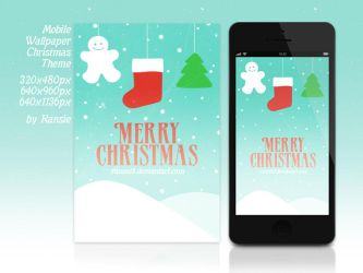 Christmas Mobile Wallpaper by Ransie3