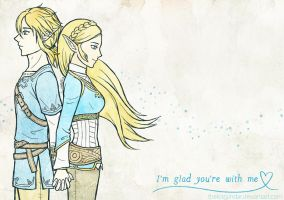 I'm Glad You're with Me by theLostSindar