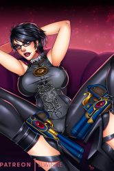 Bayonetta- Patreon supported Fanart by elwinne