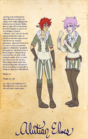 Page 3: Alutian Elves by Shukafae