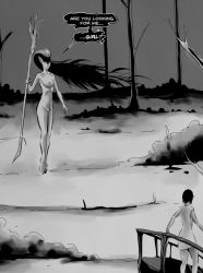 Aidana Chapter II page 6 panel one excerpt by StereoiD