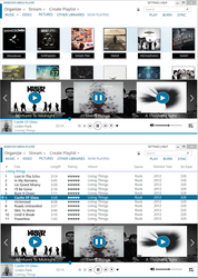 Concept: Metro windows media player by samcaffeine
