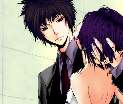 KHR 169: Hibari and Chrome by blackened-skin