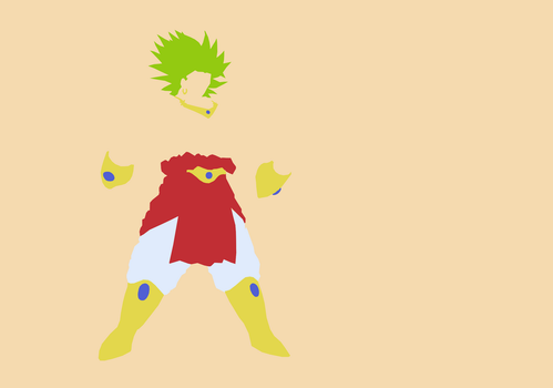 Broly, the Legend by Hamzaa386