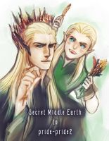King  and little prince of the Woodland by lights510