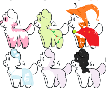 puppy adoptables! by saltybreadstix