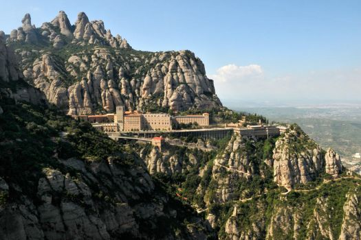 Montserrat Monastery 1 by wildplaces