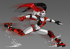 Harley Quinn by ADL-art