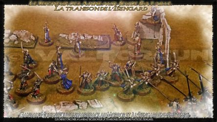 Figurine-Staging-The Betrayal of Isengard by Valtorgun-le-Grand