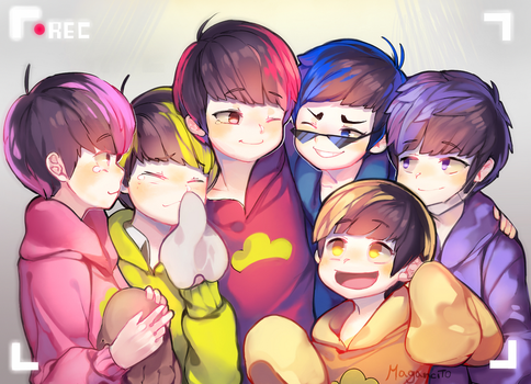 Osomatsu together again by Magancito