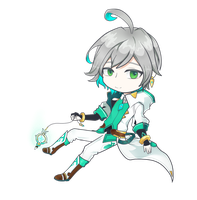 elsword - Ainchase Ishmael by madeline13trent