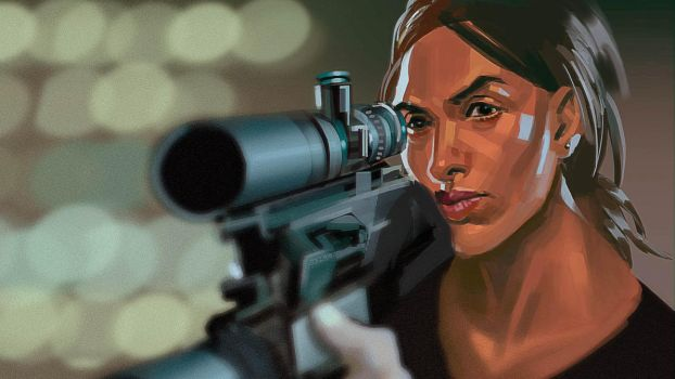 Person of Interest screenshot study - Lady Killer by axl99