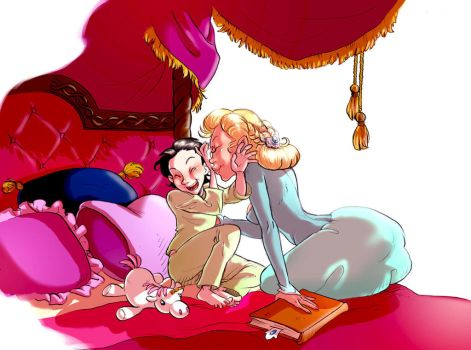 A.S. : Prince Snuggle-bug and Queen Tickle-monster by Iulie-O