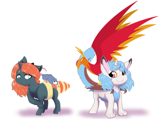 Royalty pets by MaruKouhai
