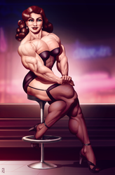 Muscle Diner by JanRockitnik