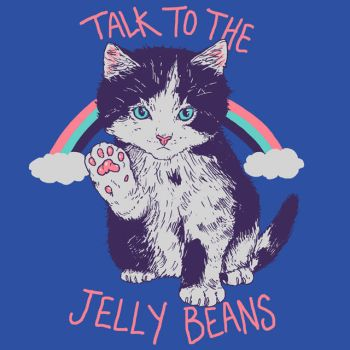 Talk To The Jelly Beans by HillaryWhiteRabbit