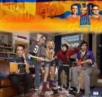 The Big Bang Theory - Band by TheSnowman10