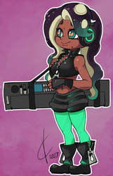 Splatoon 2 - Marina by Dreatos