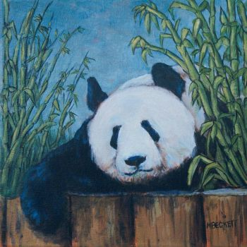 Chillin' Panda by mbeckett