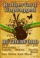 Unplugged Guitar Poster by squiffythewombat