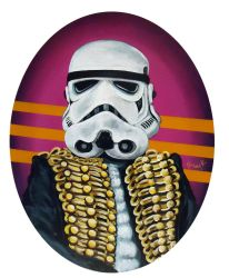 New Wave Stormtrooper by TrampLamps