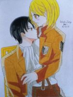 Rivaille and Petra by ZeRo-SaMa23