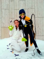 .:Digimon Emperor and Tailmon -Cosplay:. by ChibiSonikku