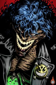 Evil Ernie by Jerry Beck with colors by me! by duckness