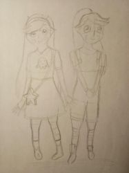 (WIP) The Butterfly Twins by AfiahSarah27