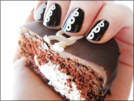 Homage to the Hostess Cupcake by Alchemical