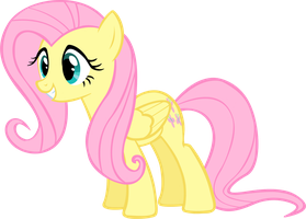 Fluttershy Vector One by LilCinnamon