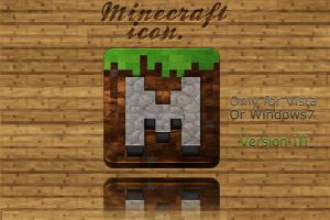 Minecraft Icon, Version. III by Schulerr