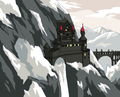 Vampire Castle by ErinPtah