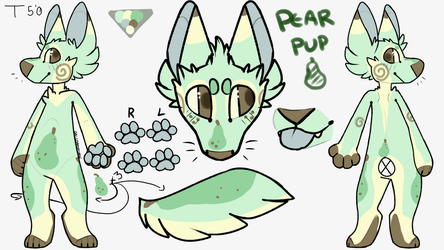 PearPup Adopt Closed by Ponpon913