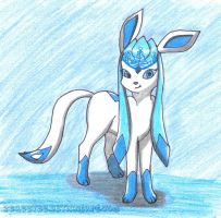 Request - Frost Queen, Glaceon by kreazea