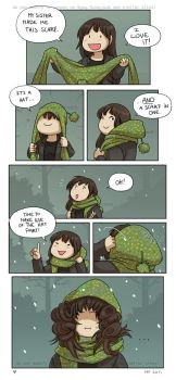 Favourite Scarf by Zombiesmile