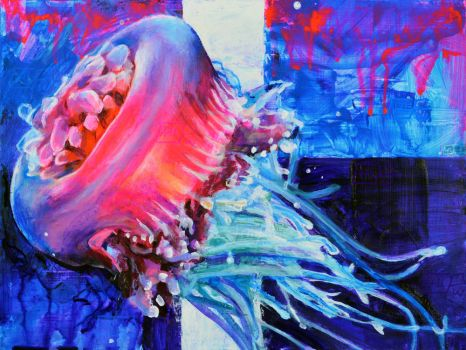 Jellyfish Colors by ChipWhitehouse