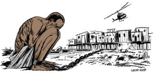 From slavery to poverty by Latuff2