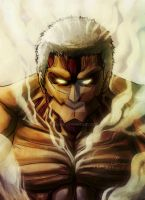 Armored Titan artwork by MCAshe