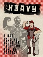 Heavy Weapons Gal by Mr-Greeley