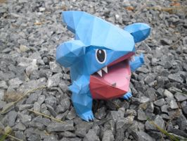 Gible papercraft by TimBauer92