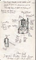Ghostbusters Japan: Proton Pack Design by SharazDestler