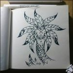 Sketchbook - Feathered Serpent by Candra