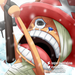 One Piece - Because... by SergiART