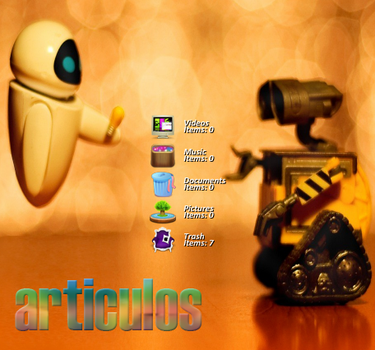 Articulos skin para rainmeter by tutorialslucy
