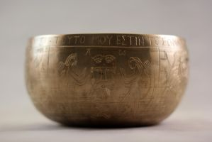 Lord's Supper bowl side 1 by Dewfooter